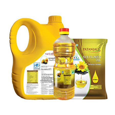 Patanjali Sunflower Oil